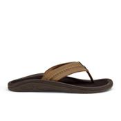 OluKai Hokua Mens Flip Flops, Tan-Tan, medium