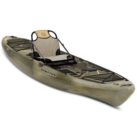 Native watercraft redfish 10 sit on top kayak male for Canoe vs kayak fishing