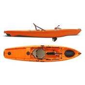 Native Watercraft Mariner 12.5 MS Propel Kayak 2013, Mango, medium