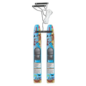 Hydroslide Water Wabbit Trainer Junior Combo Water Skis With Bindings 2013, , medium