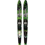 Hydroslide Victory Combo Water Skis With Universal Fit Slide Bindings, , medium