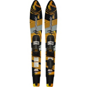 Hydroslide Wide Track Combo Water Skis With Universal Fit Slide Bindings 2015, , medium