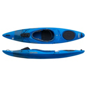 Pyranha Fusion M River Kayak, Blue-Grey, medium