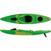 Pyranha Fusion L River Kayak, Lime-Yellow, medium