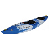 Pyranha Fusion L River Kayak, Blue-Grey, medium