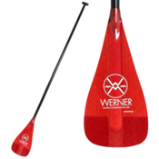 Werner Paddles Advantage 2-Piece Adjustable Stand Up Paddle 2013, Red, medium