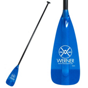 Werner Paddles Carve 2-Piece Adjustable Stand Up Paddle 2013, Blue, medium