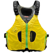 Astral Camino 200 Adult Kayak Life Jacket, Yellow, medium