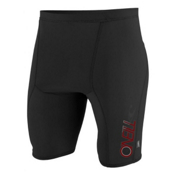 O'Neill Skins Shorts Mens Rash Guard, Black, medium
