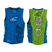 O'Neill Techno Pullover Comp Adult Life Jacket 2013, Blue-Green, medium
