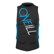 O'Neill Gooru Padded Comp Adult Life Jacket 2013, Black-Bright Blue, medium