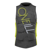 O'Neill Gooru Padded Comp Adult Life Jacket 2013, Graphite-Lime, medium