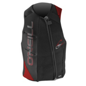 O'Neill Revenge Adult Life Vest 2014, Black-Graphite-Red, medium