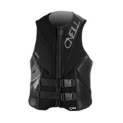O'Neill Torque Adult Life Vest, Black-Black-Black, medium