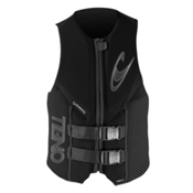 O'Neill Assault L.S. Adult Life Vest 2014, Black-Black-Black, medium