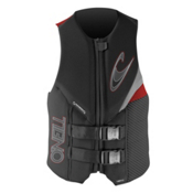 O'Neill Assault L.S. Adult Life Vest 2014, Graphite-Flint-Red, medium