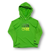 O'Neill Skins Hoodie Rash Guard, Grass, medium