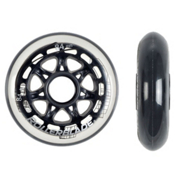Rollerblade 84mm/84A Inline Skate Wheels - 8 Pack 2013, , medium