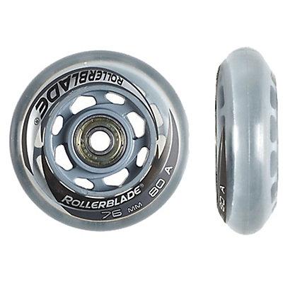 Rollerblade Wheel Kit 76mm/80A SG5 Inline Skate Wheels with SG5 Bearings - 8 Pack 2015, , large
