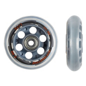 Rollerblade Wheel Kit 80mm/82A SG7 Inline Skate Wheels with SG7 Bearings - 8 Pac