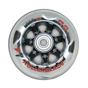 Rollerblade Wheel Kit 90mm/84A SG9 Inline Skate Wheels with SG9 Bearings - 8 Pack 2015, , medium