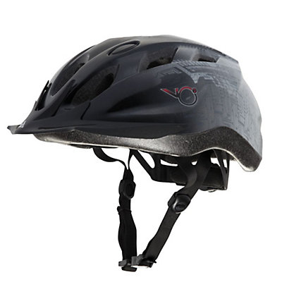 K2 V02 Max Mens Fitness Helmet, Black-Grey, viewer
