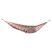 Grand Trunk Double Parachute Nylon Print Hammock, White Hybiscus, medium