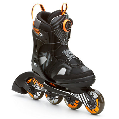 K2 SK8 Hero Boa Adjustable Kids Inline Skates, , large