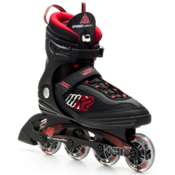 K2 Kinetic 80 Inline Skates, Black-Red-Silver, medium