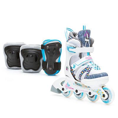 K2 Charm Pro Pack Adjustable Girls Inline Skates, , large