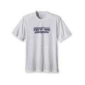 Patagonia Polarized T-Shirt, Fitz Solid White, medium