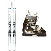 Salomon Origins Lagoon Womens Ski Package 2013, , medium