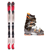 K2 A.M.P. Force Ski Package 2013, , medium