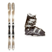 K2 SuperSmooth Womens Ski Package 2013, , medium