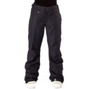 Roxy Shes The One Insulated Womens Snowboard Pants, True Black, medium