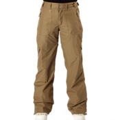 Roxy Golden Track Shell Womens Snowboard Pants, Military, medium