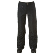 Roxy Golden Track Shell Womens Snowboard Pants, True Black, medium