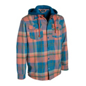Quiksilver Mapocho Riding Hoodie, Blue Stone, medium