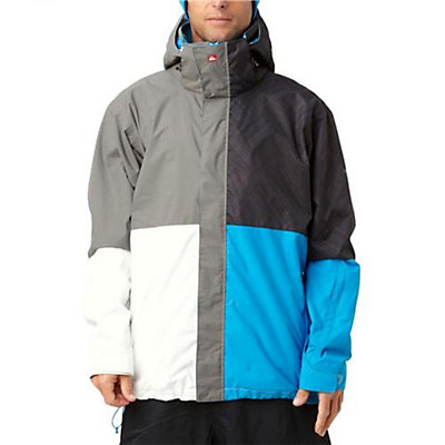 Quiksilver Quarter Mens Insulated Snowboard Jacket, , large