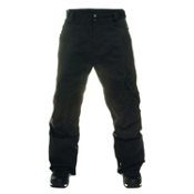 Quiksilver Impulse Shell Mens Snowboard Pants, Black, medium