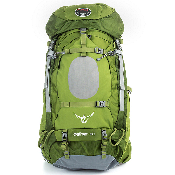 Osprey Aether 60 Backpack, Bonsai Green, 600