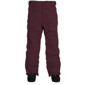 Quiksilver Drill Insulated Mens Snowboard Pants, Burgundy, medium