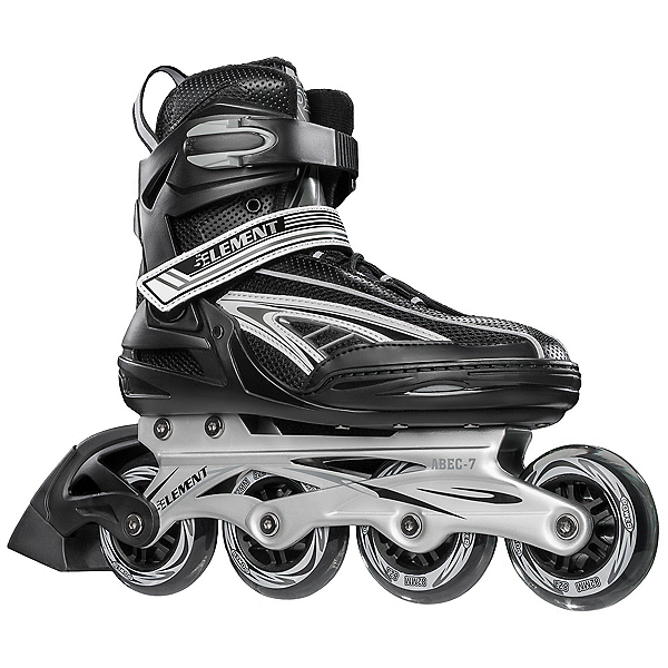 5th Element Panther XT Inline Skates 2017, Black-Gray, 600