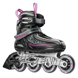 5th Element Lynx LX Womens Inline Skates, Black-Violet, 256