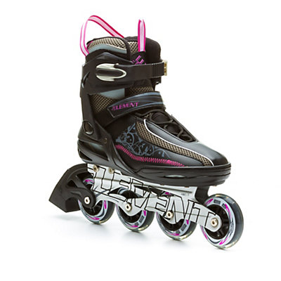 5th Element Lynx LX Womens Inline Skates, Black-Violet, viewer