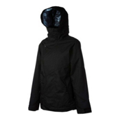 Oakley Permanente Womens Insulated Ski Jacket, Jet Black, medium