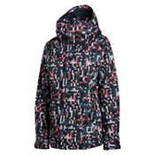 Oakley Fit Womens Shell Ski Jacket, Sunset, medium
