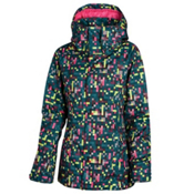Oakley Fit Womens Insulated Ski Jacket, Lightning Green, medium