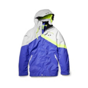Oakley Ascertain Mens Shell Ski Jacket, Spectrum Blue, medium