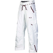 Oakley Motility Mens Ski Pants, White, medium